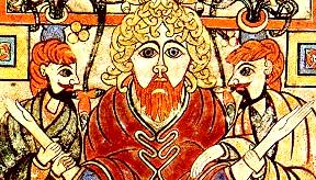 Christ, from the Book of Kells